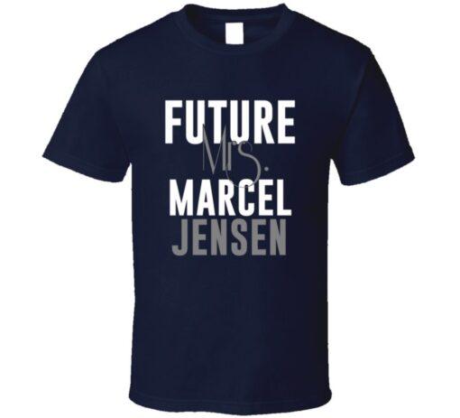 Future Mrs. Marcel Jensen Denver Football Jersey T Shirt