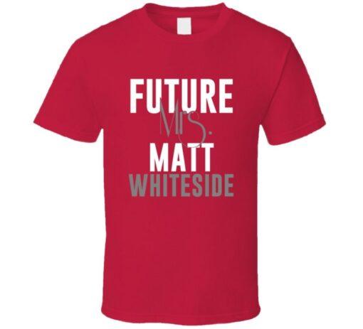 Future Mrs. Matt Whiteside 2001 Atlanta Baseball T Shirt
