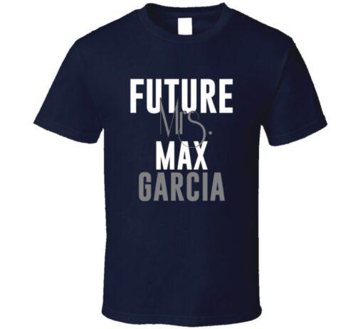 Future Mrs. Max Garcia Denver Football Jersey T Shirt