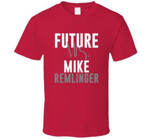 Future Mrs. Mike Remlinger 2006 Atlanta Baseball T Shirt