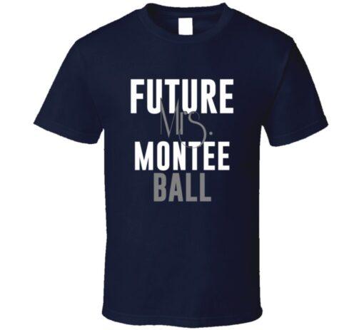 Future Mrs. Montee Ball Denver Football Jersey T Shirt