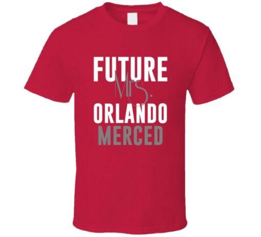 Future Mrs. Orlando Merced Boston Baseball 1998 T T Shirt