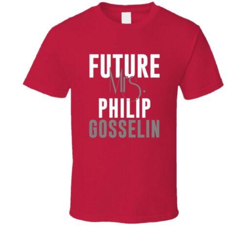 Future Mrs. Philip Gosselin 2013 Atlanta Baseball T Shirt