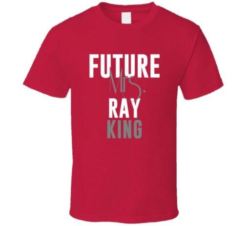 Future Mrs. Ray King 2003 Atlanta Baseball T Shirt