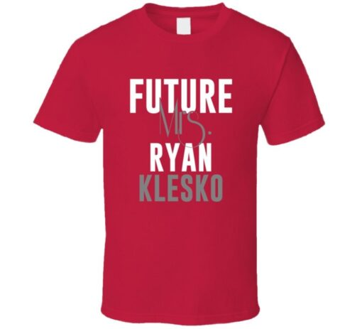 Future Mrs. Ryan Klesko 1999 Atlanta Baseball T Shirt