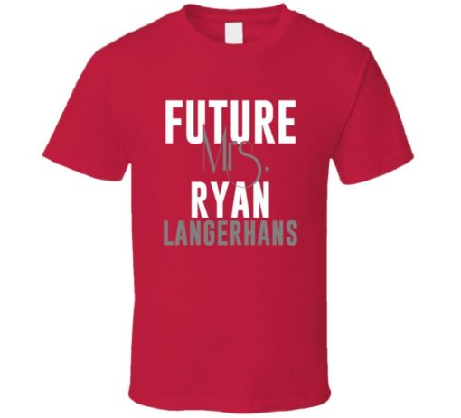 Future Mrs. Ryan Langerhans 2007 Atlanta Baseball T Shirt