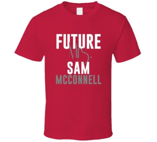 Future Mrs. Sam Mcconnell 2004 Atlanta Baseball T Shirt