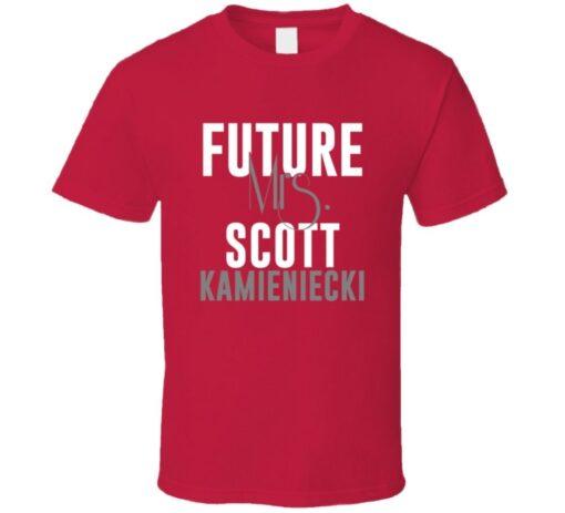 Future Mrs. Scott Kamieniecki 2000 Atlanta Baseball T Shirt