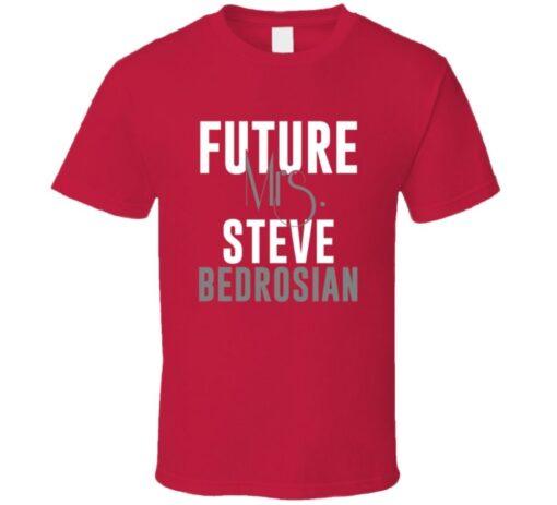 Future Mrs. Steve Bedrosian 1995 Atlanta Baseball T Shirt
