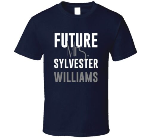 Future Mrs. Sylvester Williams Denver Football Jersey T Shirt