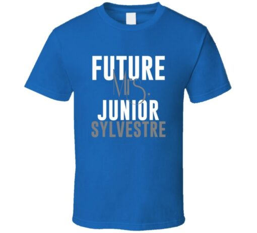 Future Mrs. Sylvestre Junior Football Jersey Indianapolis T Shirt