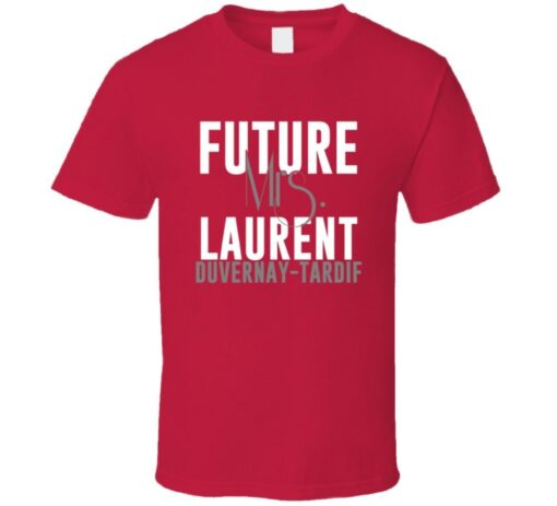Future Mrs. Tardif Laurent-Duvernay Kansas City Football T Shirt