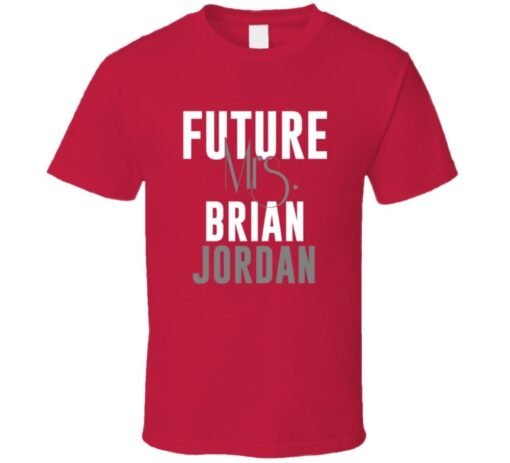 Future Mrs. Todd Pratt 2006 Atlanta Baseball T Shirt