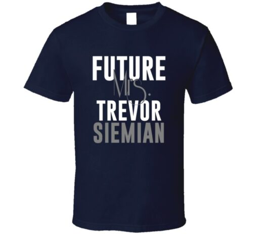 Future Mrs. Trevor Siemian Denver Football Jersey T Shirt
