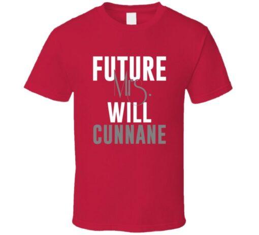 Future Mrs. Will Cunnane 2004 Atlanta Baseball T Shirt