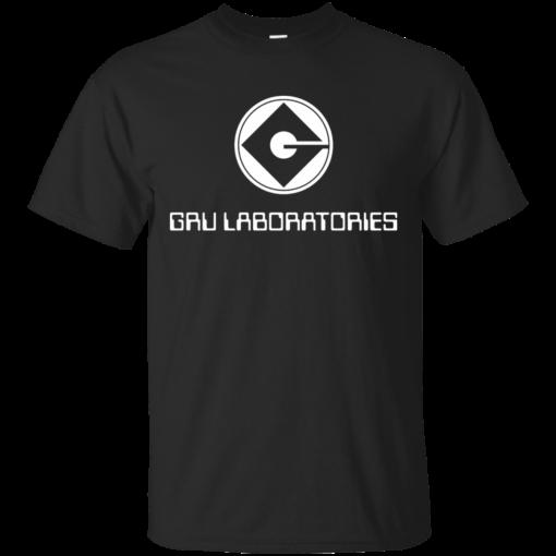 GRU Laboratories animation Cotton T-Shirt