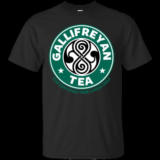 Gallifreyan tea hip Cotton T-Shirt