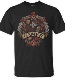 Gamer Crest Cotton T-Shirt