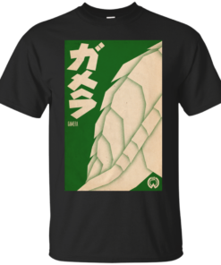 Gamera Movie Poster Tee Cotton T-Shirt