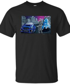 Ghost In The Subie Cotton T-Shirt