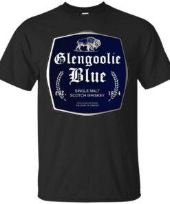 Glengoolie Blue Cotton T-Shirt