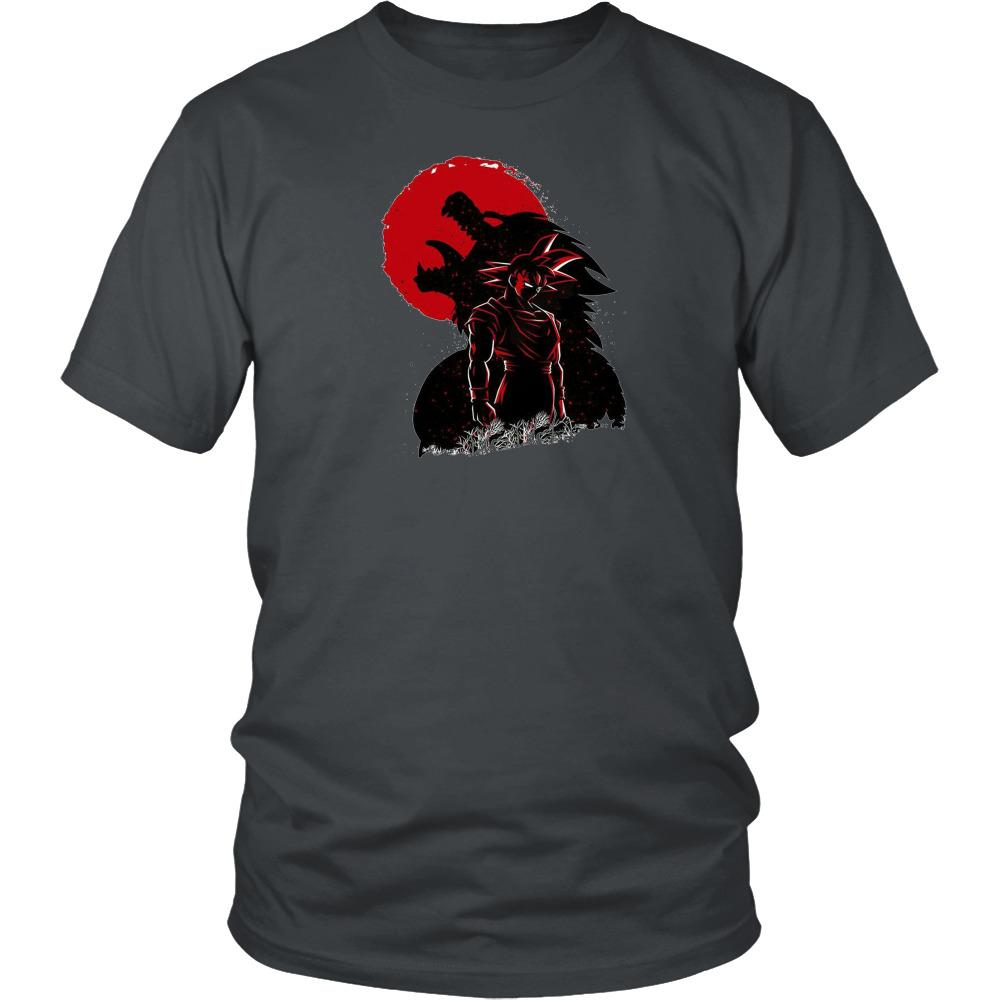 Goku oozaru silhouette dragonball z goku dbz classic t shirt