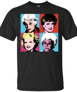 Golden Warhol Girls Cotton T-Shirt