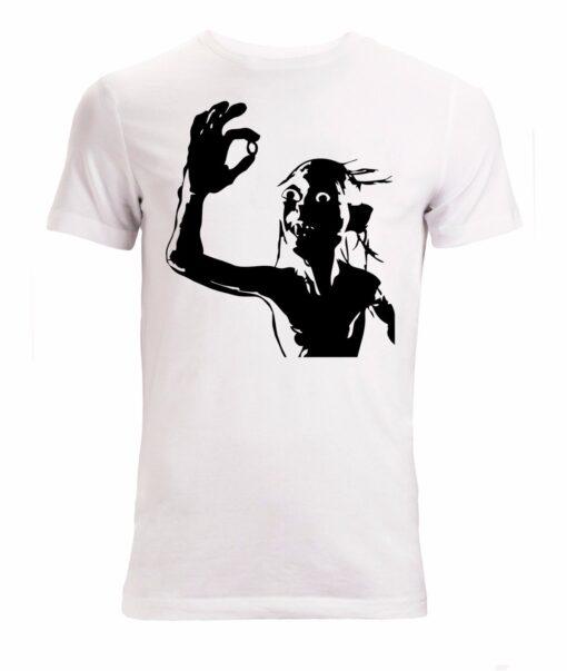 Golum And Minimalist Art Lord One Ring White Men'S Rings T Shirt