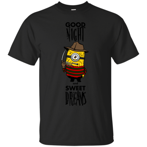 Good Night minion Cotton T-Shirt