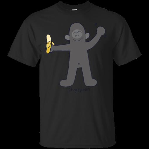 Gorilla banana Cotton T-Shirt