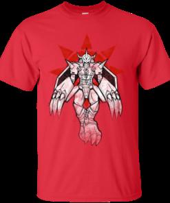 Graffiti Warrior of Courage Cotton T-Shirt