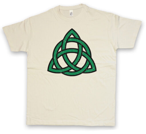 Green Celtic Knot Celtic Cross Runas Walhalla Thor Odin Germanic Odhin T Shirt