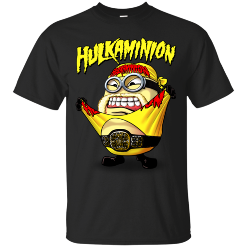 HULKAMINION yellow outfit mashup Cotton T-Shirt