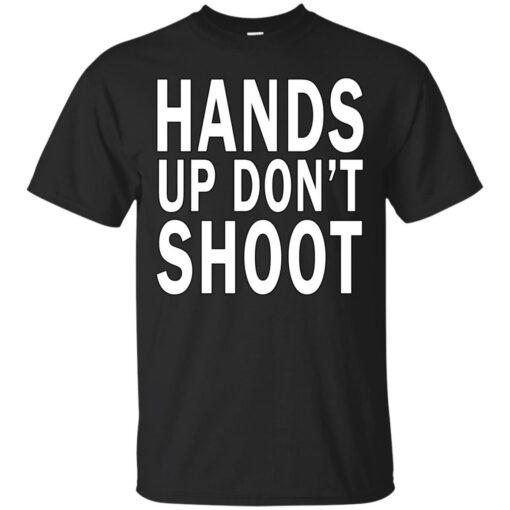 Hands Up Dont Shoot Cotton T-Shirt