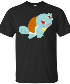 Happy Squirtle Cotton T-Shirt
