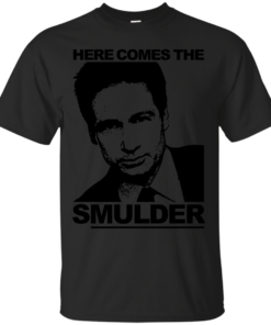 Here Comes the sMulder XFiles Returns in 2016 Cotton T-Shirt
