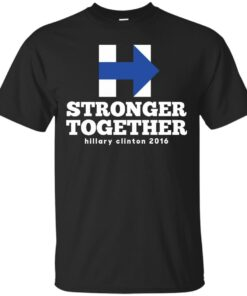 Hillary Clinton Stronger Together Cotton T-Shirt