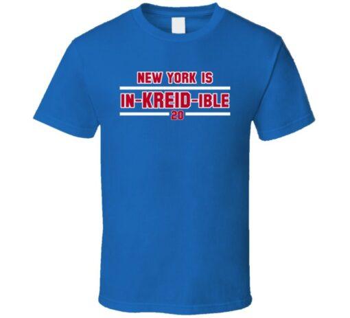 Hockey Player Chris Kreider New York T T Shirt