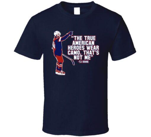 Hockey Player Tj Oshie Hero Usa T Shirt