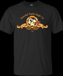 Homicidal Psycho Jungle Cat Cotton T-Shirt