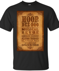 Hoop Dee Doo Musical Review Disney World Cotton T-Shirt