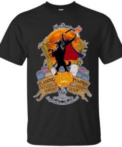 Horseman Flaming Pumpkin Harvest Stout Cotton T-Shirt