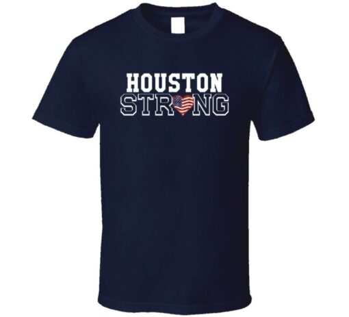 Houston Hurricane Relief Strong Support Disaster Harvey T Shirt