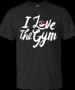 I Love The Gym Cotton T-Shirt