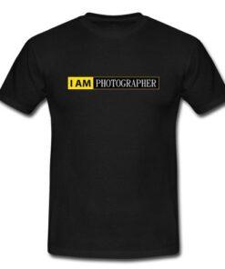 I Unisex Photographer Nikon Camera Gift Photography Men Tee T Shirt