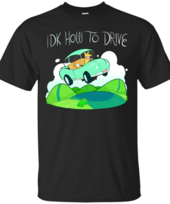 IDK HOW TO DRIVE Cotton T-Shirt