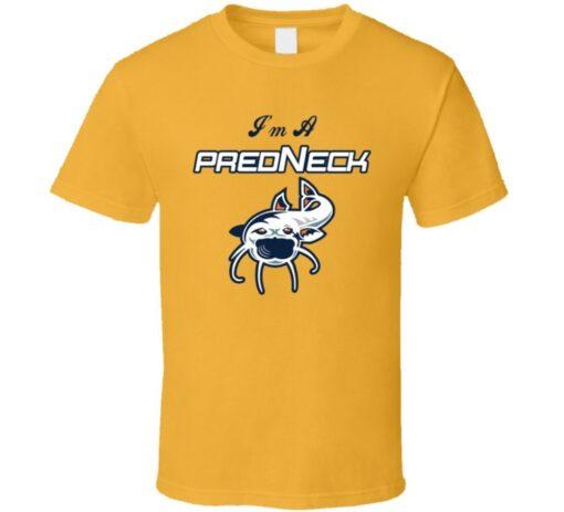 I'M A Gift Nashville Predators Hockey Fan Predneck T Shirt