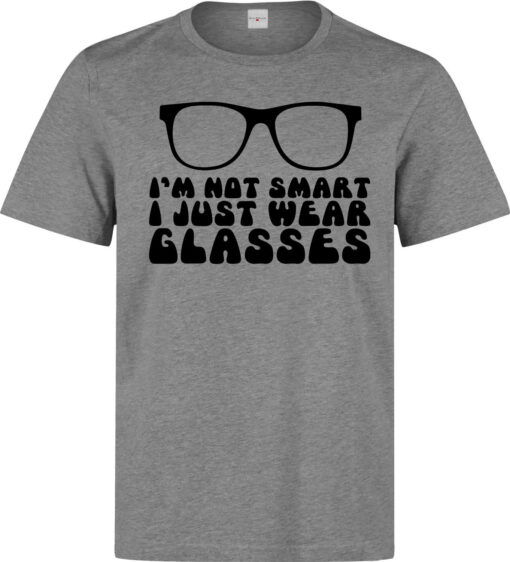 I'M Not Ready To Just Wear Funny Glasses Men (Women Available) Gray T Shirt