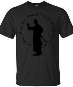 Im With The Force Cotton T-Shirt
