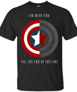 Im With You Till The End Of The Line Cotton T-Shirt